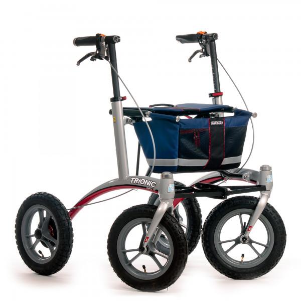 Rollator Trionic Walker 12 M/L marineblau