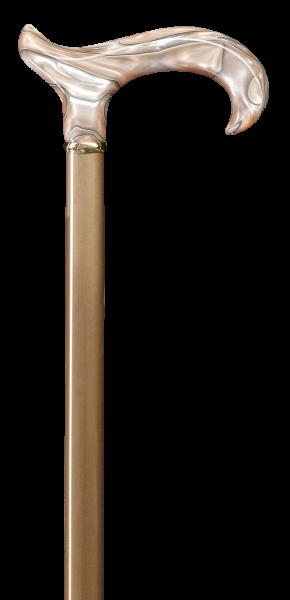 Gehstock Perlmutt-Derby dunkelblond