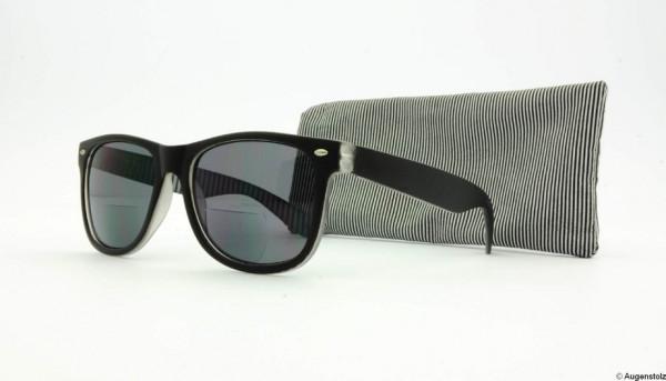 Lese-Sonnenbrille Vieux Black