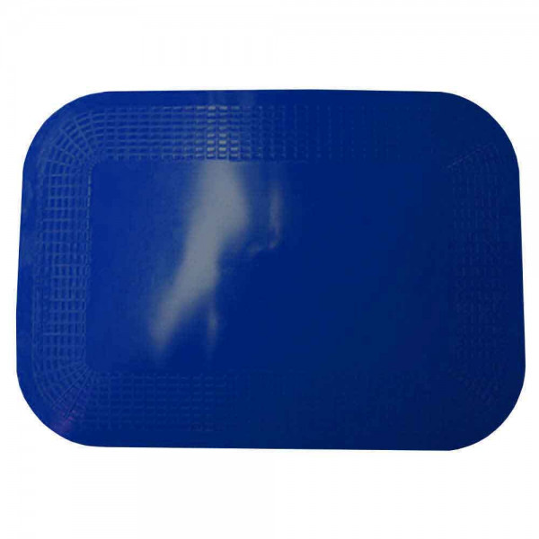 Antirutschmatte 25x18 cm blau