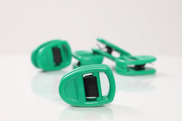Sockenclip grün 5 Stk.