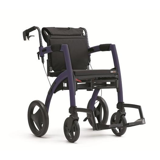 Rollz Reiserollstuhl/Rollator violett