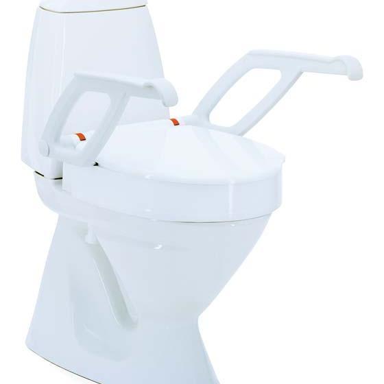 Toilettensitzerhöhung Aquatec 90000 mit Armlehne