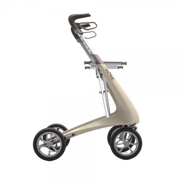 Rollator Carbon Ultralight Komfort perlweiss