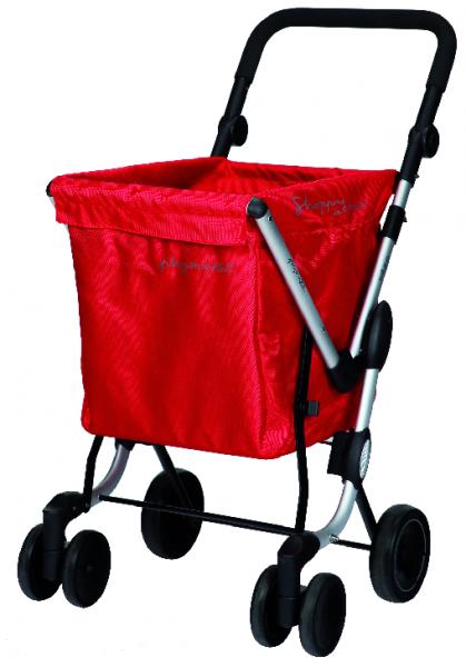 Einkaufswagen WE GO Rot