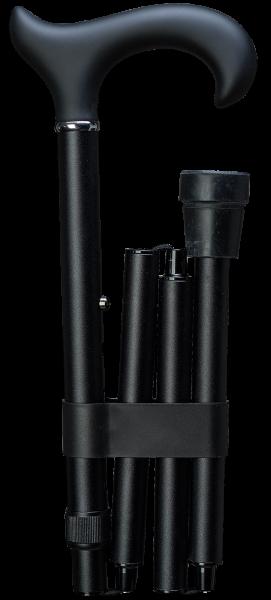 Deluxe-Faltstock Softgriff Ergonomic schwarz