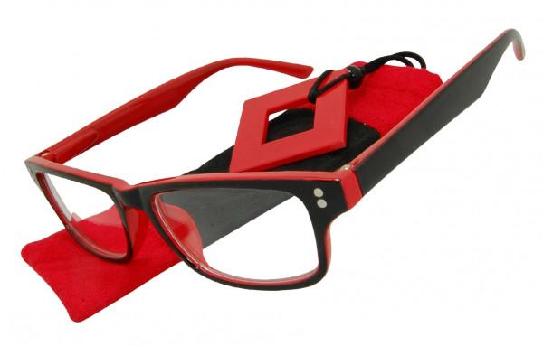 Lesebrille Spectrum Red